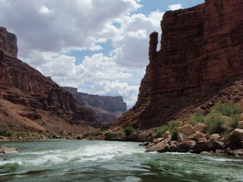 Grand Canyon River Scenery