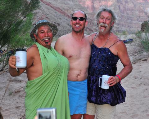 Fun on Grand Canyon Rafting Trip