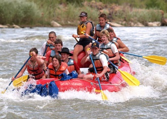 Moab Whitewater Rafting
