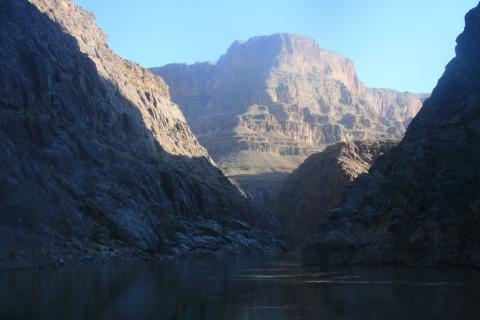 Colorado River in the Morning