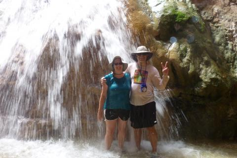 Grand Canyon Rafting Vacation - Travertine Waterfalls