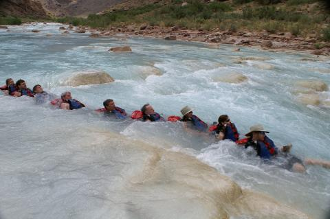 Floating the Little Colorado River on a Western River Expeditions Trip