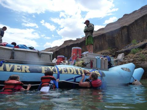 Swim Break on the Colorado River