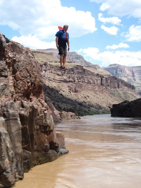 Grand Canyon Cliff Jumping