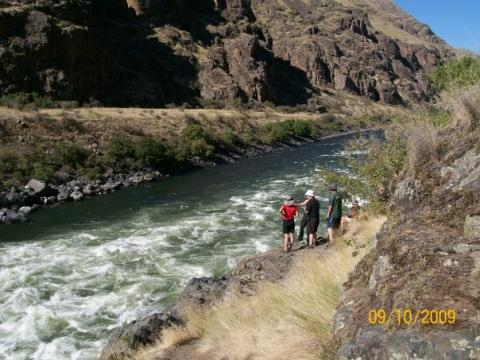 Snake River Hells Canyon Rafting Trip