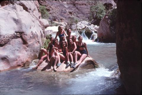 1979 Grand Canyon Guide Training Trip Western River Blog