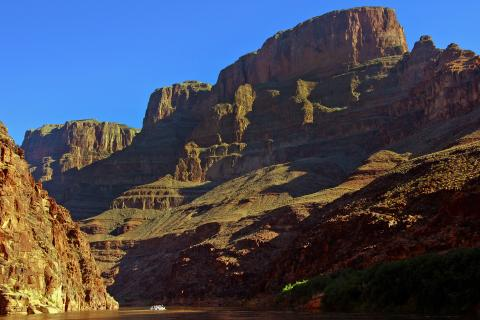 Colorado River, Rafting the Grand Canyon