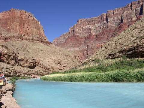 Little Colorado River on a Grand Canyon Rafting Trip