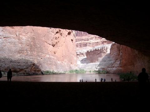 Red Wall Cavern on Western River Expeditions Trip