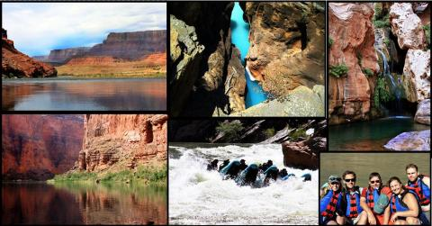 Colorado River Rafting through Grand Canyon