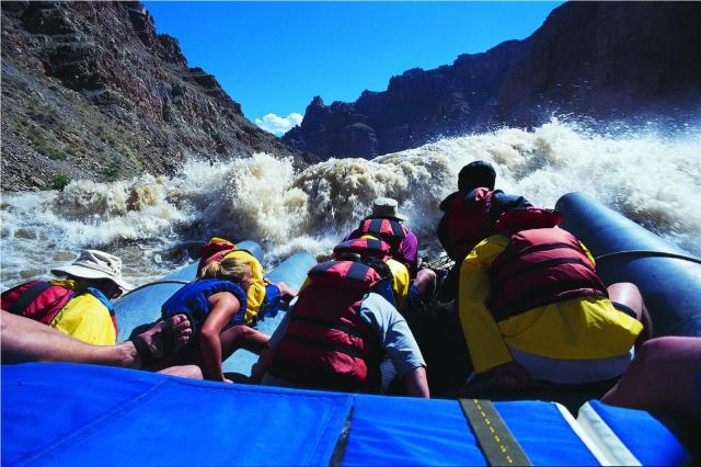 Cataract Canyon rapids on a J-Rig