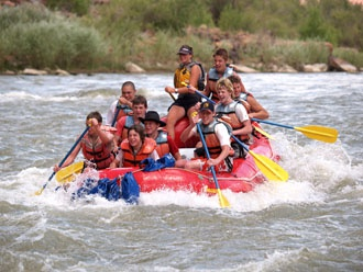 Colorado River Rafting Moab