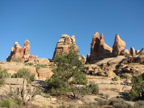 Dolls House in Canyonlands National Park