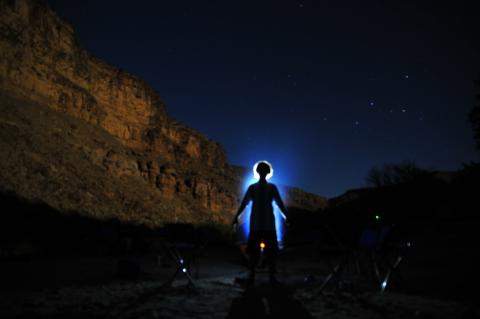 Green River Rafting Stars at Night