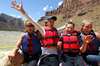 Green River White Water Rafting