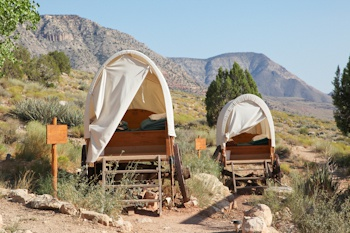 Bar 10 Ranch Covered Wagons
