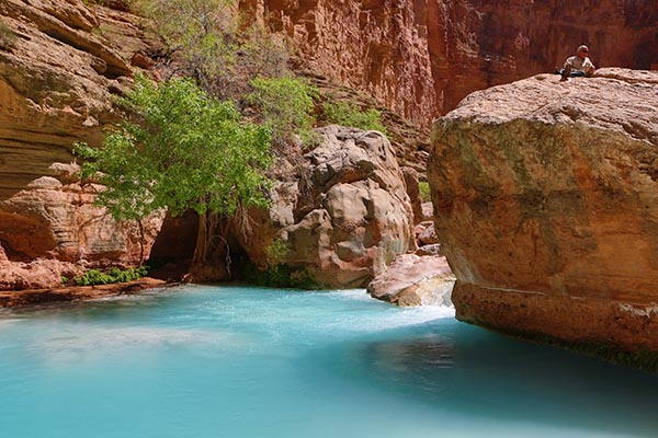 Pool on Havasu Creek, Grand Canyon National Park