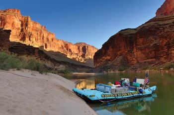 grand-canyon-upper-jrig-camp-sunset