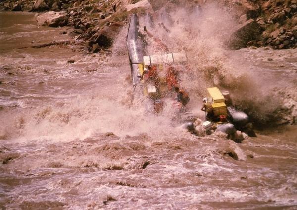 J-Rig, Cataract Canyon 1984 @ 114,000 cfs