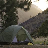 Camping on Lower Salmon River