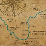 Grand Canyon Tour Map