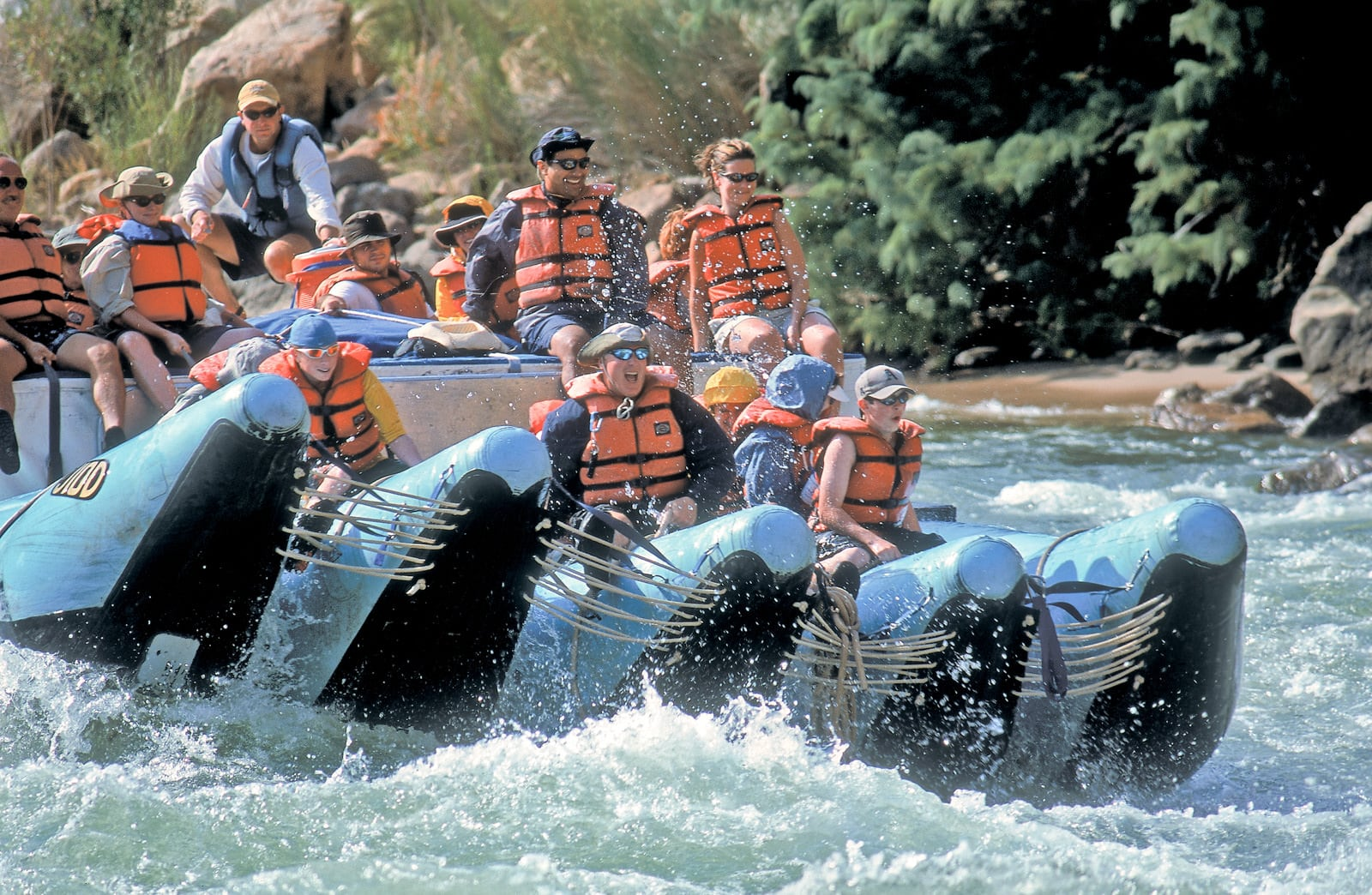 the jrig raft best raft in grand canyon