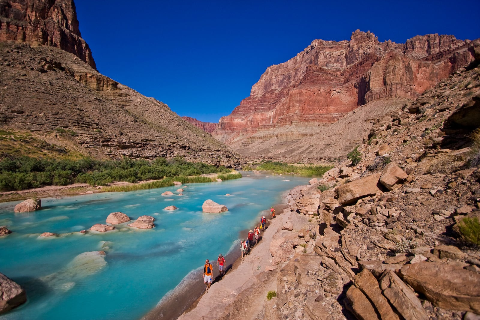 beautiful grand canyon pictures - 6 or 7 day rafting trip