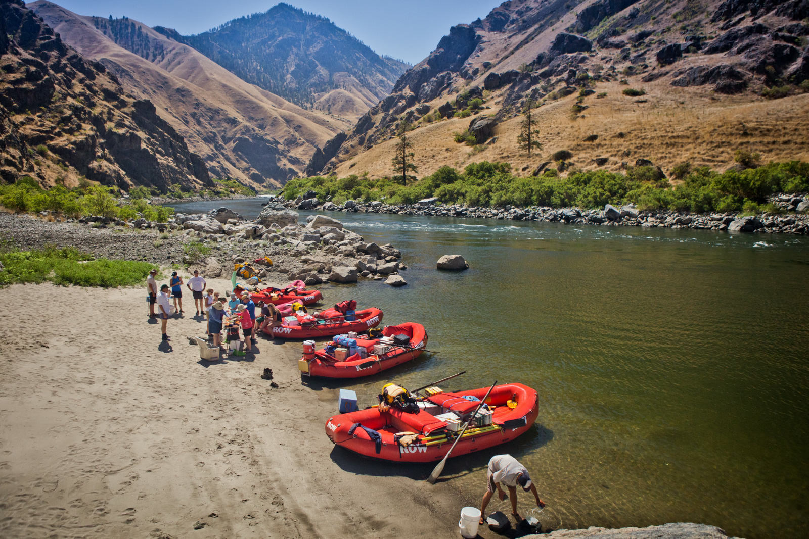 Pictures Of Hells Canyon Rafting On The Snake River