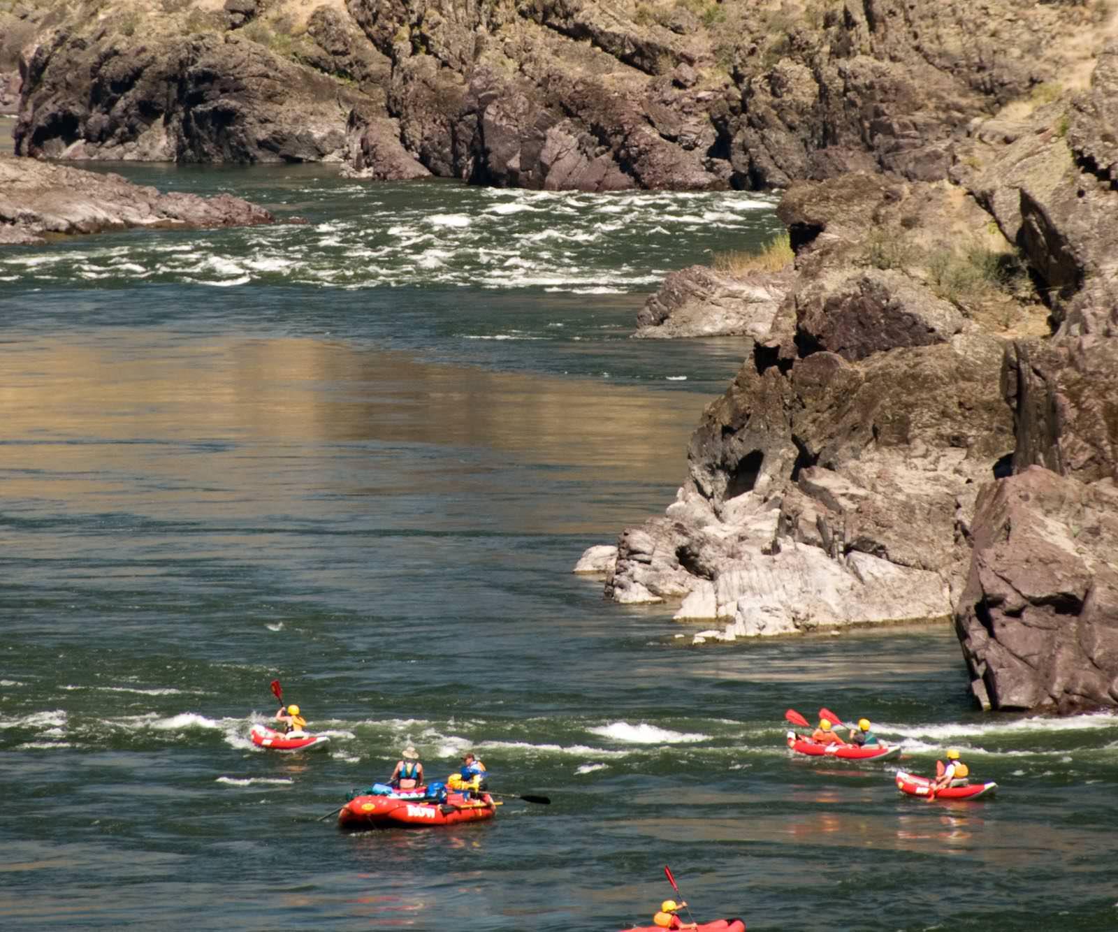 Lower Salmon River Rafting Trip In Idaho