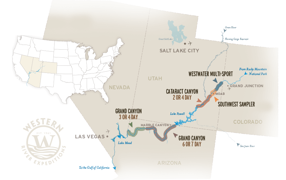 Colorado River Map