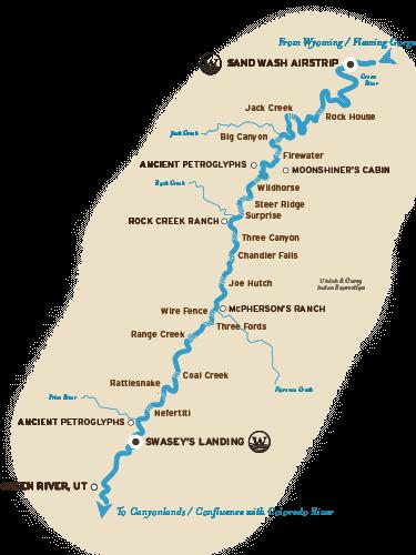 Green River Utah Rafting Itinerary Green River Utah