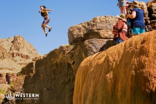 Jumping Pumpkin Springs in Grand Canyon