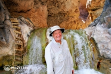Travertine Grotto in Grand Canyon