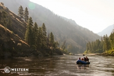 Calm water on the Main Salmon River
