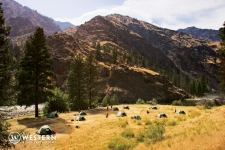 Camping on the Middle Fork