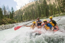 Whitewater rafting on the Middle Fork