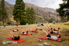 Camp Yoga on the Middle Fork