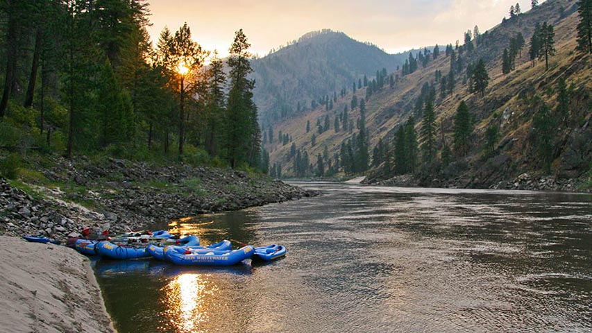 Image result for white water rafting salmon river